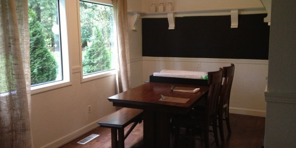 chalkboard wall
